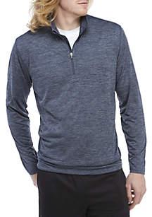 Big & Tall Long Sleeve 1/4 Zip Pullover
