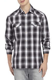 Long Sleeve Western Woven Shirt