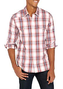 Long Sleeve Western Woven Shirt