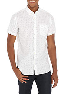 Short Sleeve Woven Tracks Shirt