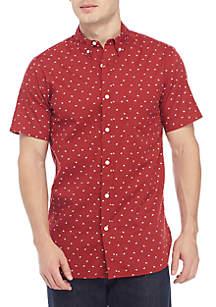 Short Sleeve Woven Lightning Shirt