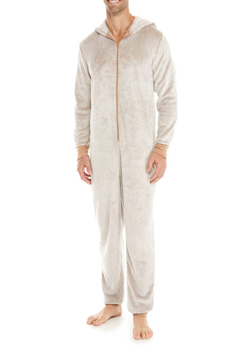 HOLIDAY FAM JAMS Reindeer Dad One-Piece Pajamas