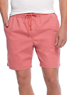 Big & Tall Crown & Ivy Deck Shorts