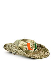 The Miami Hurricanes DigiCamo Bucket Hat