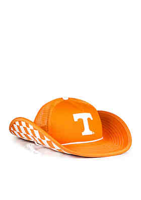 9802e4918d2 Cowbucker The Tennessee Volunteers Orange Checkerboard Bucket Hat ...