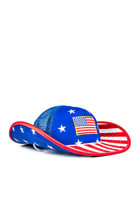 Cowbucker The Stars and Stripes American Flag Bucker