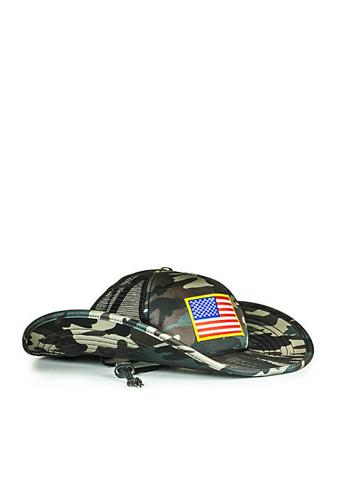 Cowbucker The O Say Camo See Bucket Hat