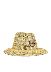 LSU Tigers Straw Outback Hat