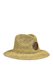 The Miami Hurricanes Full Brim Straw Hat