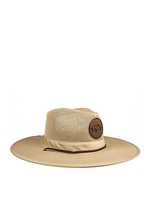 Cowbucker The Arkansas Razorbacks Safari Hat