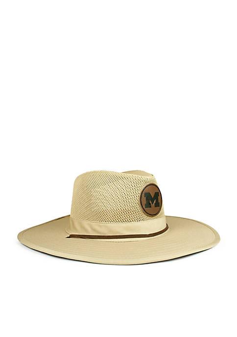 Cowbucker The Michigan Wolverines Safari Hat