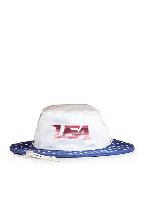 Cowbucker The Old Glory Denim Boonie Hat