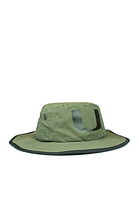 Cowbucker Miami Hurricanes Waterproof Boonie Hat