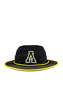 Appalachian State Mountaineers Black Mesh Boonie Bucket Hat