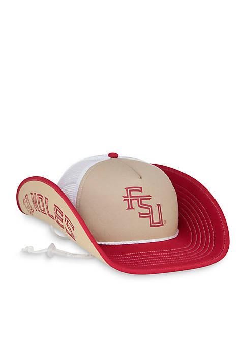 Cowbucker Florida State Seminoles Classic Mesh Bucker Hat