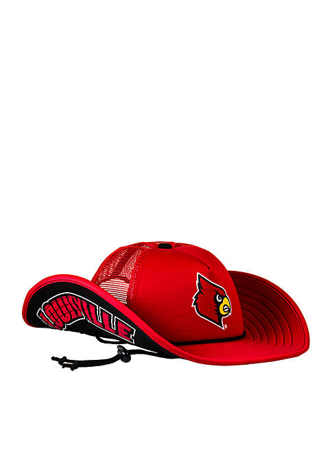 Cowbucker Louisville Cardinals Classic Mesh Bucker Hat