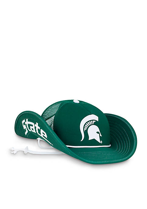 Cowbucker Michigan State Greenout Mesh Bucker Hat