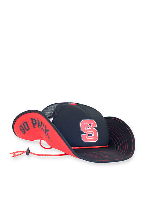 Cowbucker NC State Wolfpack Blackout Mesh Bucker Hat