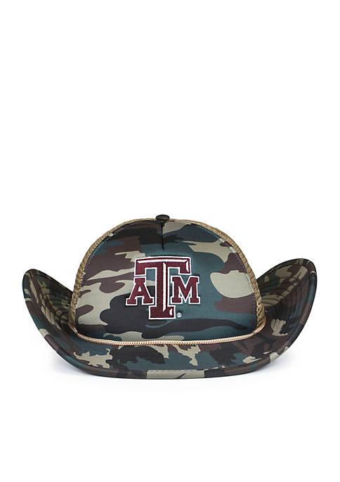 Cowbucker Texas A&M Aggies Camo Mesh Bucker Hat