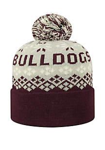 Mississippi State Bulldogs Advisory Pom Knit Hat