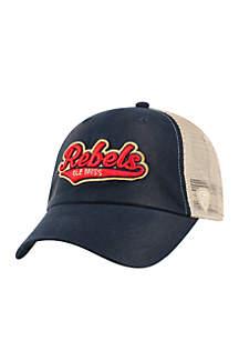 Ole Miss Rebels Club Mesh Snapback Hat