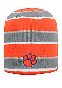 Clemson Disguise Reversible Knit Beanie Hat