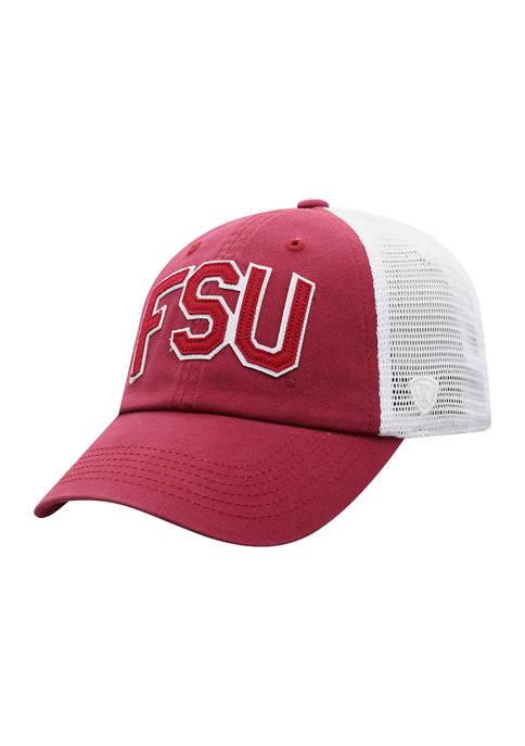 NCAA Florida State Seminoles Letter Trucker Baseball Cap