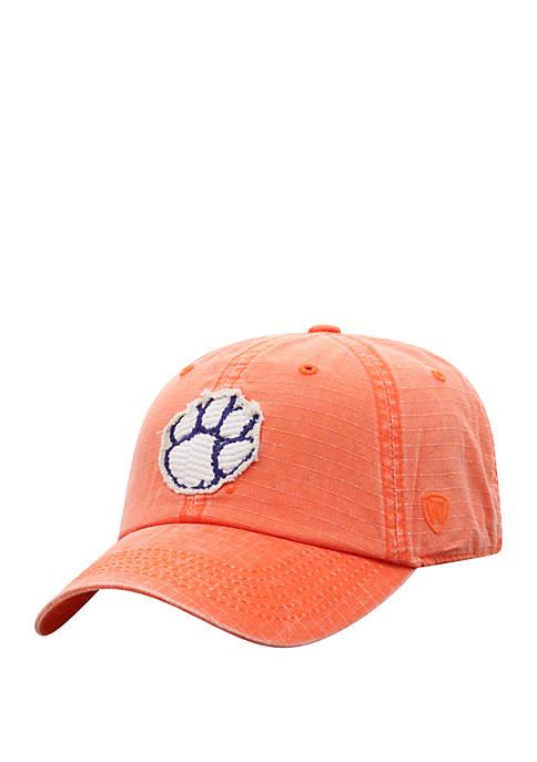 Clemson Tigers Wave Logo Baseball Hat