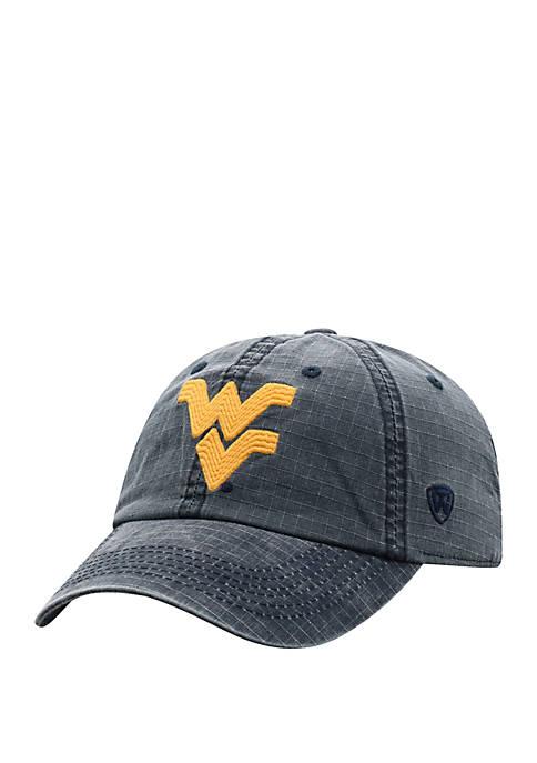 WVU Wave Logo Baseball Hat