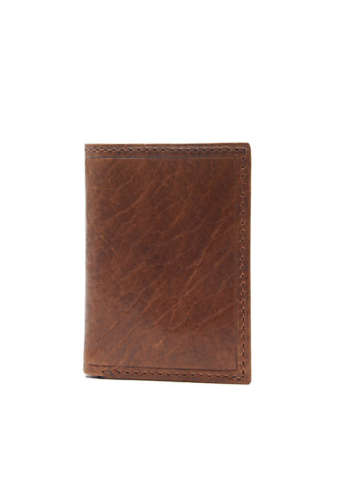 Crown & Ivy™ RFID Leather Trifold Wallet