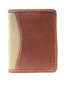 RFID Leather Bifold Wallet