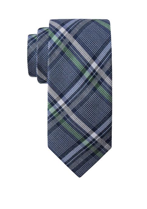 Corvallis Plaid Necktie