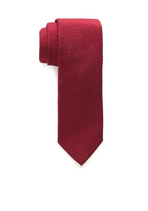 Crown & Ivy™ Cayce Gingham Tie