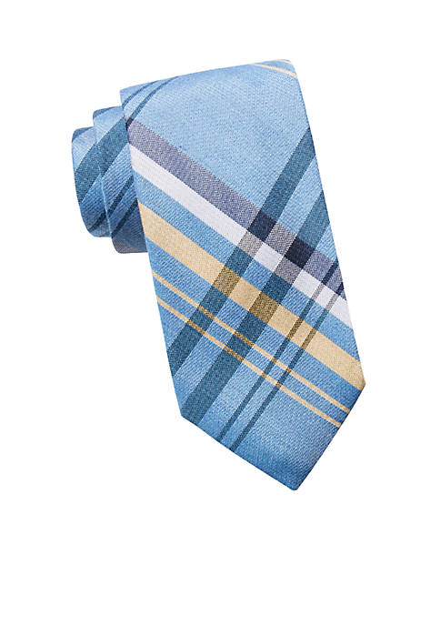 Crown & Ivy™ Neil Plaid Tie