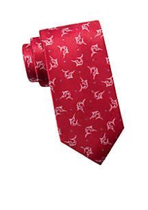 Nautical Swordfish Tie