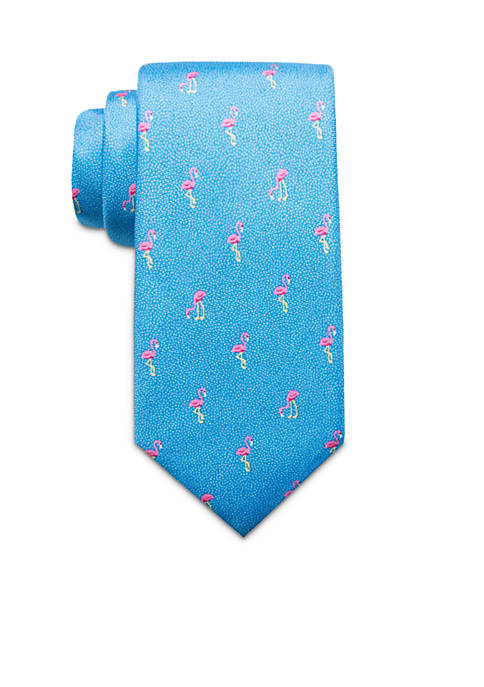 Crown & Ivy™ Diving Flamingo Necktie