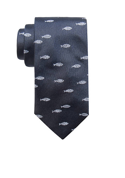 Crown & Ivy™ Sturgeon Fish Tie