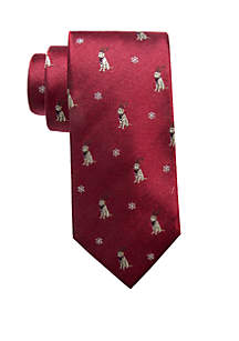 Holiday Dog Neck Tie