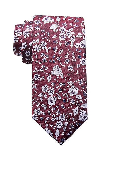 Crown & Ivy™ Diego Floral Tie