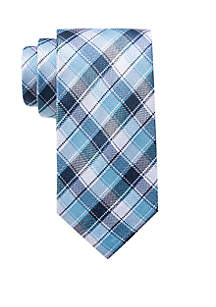 Drake Check Neck Tie