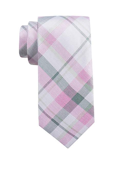 Bourne Plaid Tie