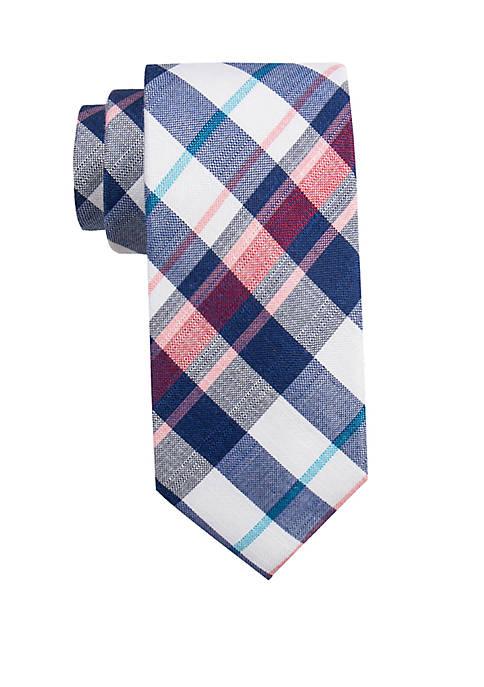 Bolton Plaid Tie