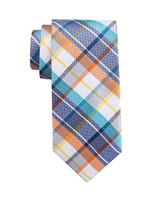 Crown & Ivy™ Casanova Plaid Tie