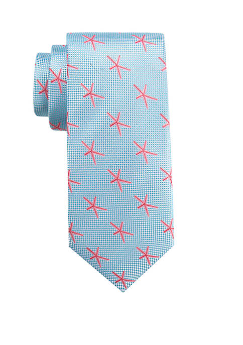 Crown & Ivy™ Bright Starfish Tie
