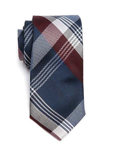 Crown & Ivy™ Plaid Silk Tie
