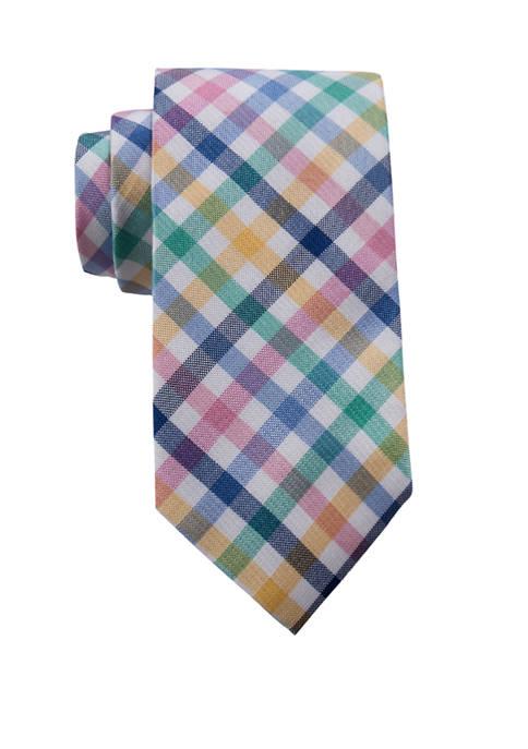 Berlyn Check Necktie
