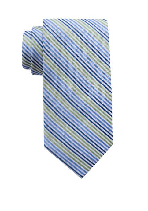 Crown & Ivy™ Cathe Triple Stripe Necktie