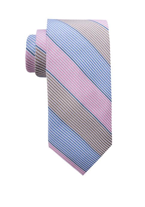Crown & Ivy™ Chloe Expanded Tri Stripe Necktie
