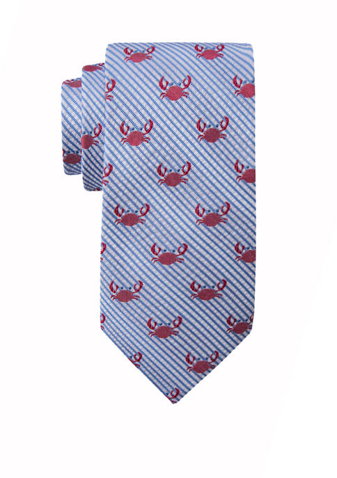 Crown & Ivy™ Mens Eugene Crab Tie
