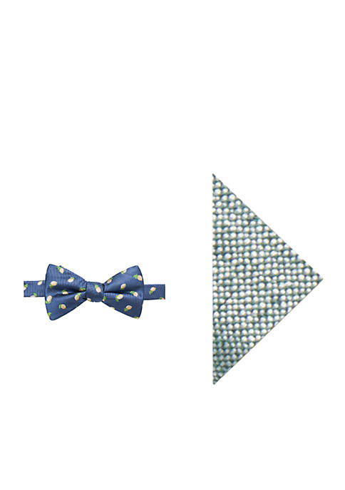 Crown & Ivy™ Naples Lemon Bow Tie and